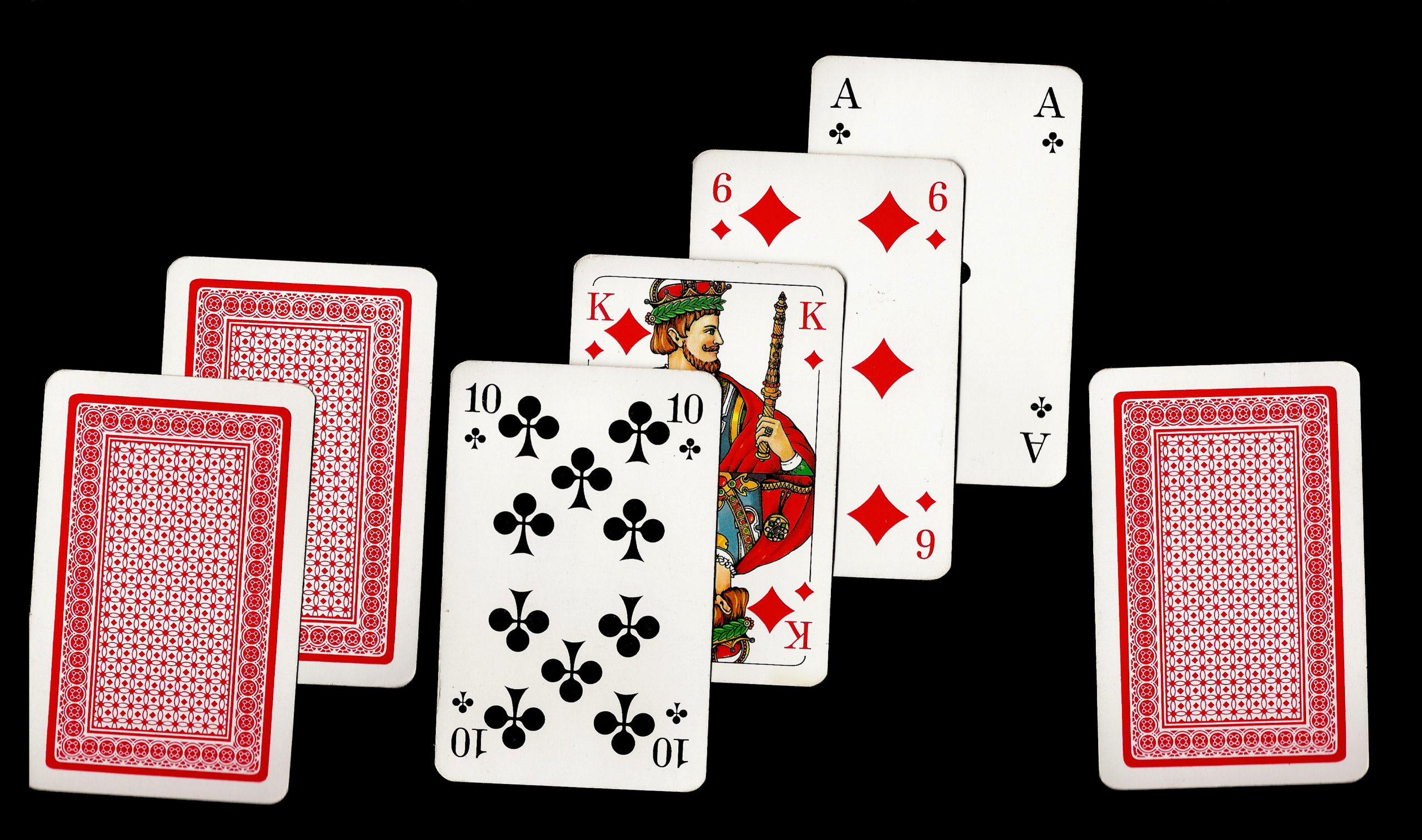 Ulike kortspill på Casino