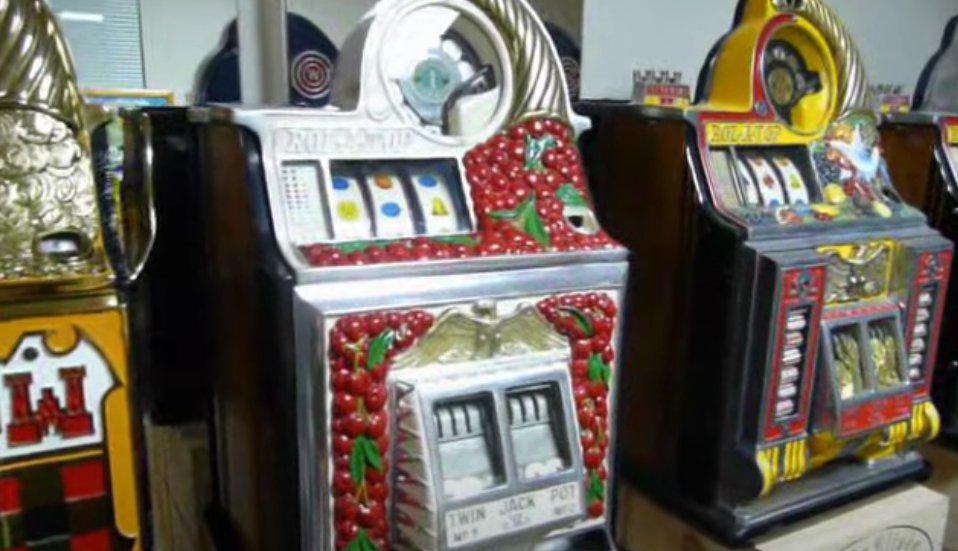 Historien om spilleautomater
